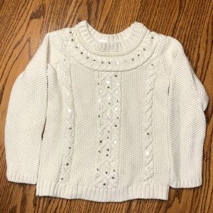 Gap girl's cable knit sweater